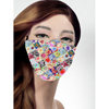 Pol Atteu Designer 90210 Face Mask Tea Party Patchwork Lady Collection BSC 121586