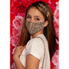 Pol Atteu Ava Designer 90210 Face Mask Love Leopard Lady Collection BSC 548375