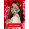 Pol Atteu Ava Designer 90210 Face Mask Cotton Candy Lady Collection BSC 914634