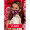 Pol Atteu Ava Designer 90210 Face Mask on Fire Lady Collection BSC982073