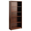 bookcases: Office Connect by Bush Furniture Envoy Series Five-Shelf Bookcase