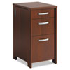 Filing cabinets: Office Connect by Bush Furniture Envoy Series Three-Drawer Pedestal