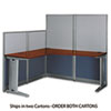 Bush Bush® Office in an Hour™ L- Workstation BSH WC36494A203
