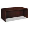 Desks Office Desks: basyx® BL Laminate Series Bow Top Desk Shell