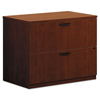 Filing cabinets: basyx® BL Laminate Series Two-Drawer Lateral File Pedestal