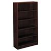HON basyx® BL Laminate Series Five-Shelf Bookcase BSX BL2194NN