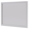 Desk Workstation Accessories Modesty Panels: basyx® BL Series Frosted Glass Modesty Panel