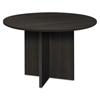 round table top: basyx® BL Laminate Series Round Table with X Base