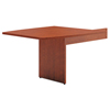 HON basyx® BL Laminate Series Boat-Shaped Modular Conference Table End BSX BLMT48BA1A1