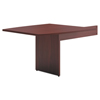 HON basyx® BL Laminate Series Boat-Shaped Modular Conference Table End BSX BLMT48BNN