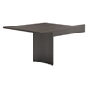 HON basyx® BL Laminate Series Rectangle-Shaped Modular Conference Table End BSX BLMT48RESES