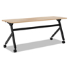 HON basyx® Multipurpose Table Flip Base Table BSX BMPT7224PW