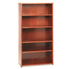 HON basyx™ BW Veneer Series Five-Shelf Bookcase BSX BW2193HH