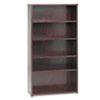 HON basyx™ BW Veneer Series Five-Shelf Bookcase BSX BW2193NN