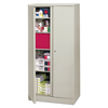 HON basyx® Easy-to-Assemble Storage Cabinet BSX C187236Q