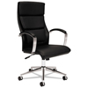 HON basyx® VL105 Executive High-Back Leather Chair BSX VL105SB11