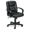 leatherchairs: basyx™ VL171 Executive Mid-Back Chair
