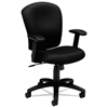 Executive Task Chairs Mid Back Swivel Tilt Chairs: basyx® VL220 Mid-Back Task Chair