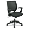 meshchairs: basyx™ VL521 Mid-Back Work Chair with Fixed Arms