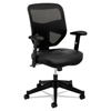 HON basyx® VL531 Mesh High-Back Task Chair with Adjustable Arms BSX VL531SB11