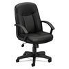HON basyx® VL601 Series Executive High-Back Leather Chair BSX VL601SB11