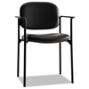 HON basyx® VL616 Stacking Guest Chair with Arms BSX VL616SB11