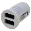BYTECH Universal USB Car Charger, 2 USB Outlets, Black BTH 21CPUNIUSB