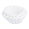 coffee filter: Flat Bottom Funnel Shaped Filters, for BUNN Sys III Brewer, 252/PK, 2 Packs/CT
