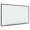 MasterVision Interactive Magnetic Dry Erase Board, 90 x 52 7/10 x 4 1/5, White/Black Frame BVC BI1591720