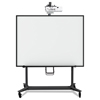 MasterVision Interactive Board Mobile Stand With Projector Arm, 76w x 26d x 86h, Black BVC BI350420
