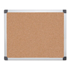 MasterVision MasterVision® Value Cork Bulletin Board with Aluminum Frame BVC CA031170