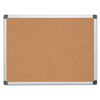 MasterVision MasterVision® Value Cork Bulletin Board with Aluminum Frame BVC CA051170