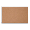 MasterVision MasterVision® Value Cork Bulletin Board with Aluminum Frame BVC CA211170