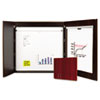 Presentation Boards: MasterVision® Conference Cabinet