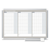 dry erase boards: MasterVision® Magnetic Dry Erase Calendar