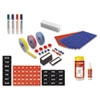 MasterVision MasterVision® Magnetic Board Accessory Kit BVC KT1317