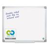 Bi-Silque MasterVision® Earth Silver Easy Clean Dry Erase Boards BVC MA2100790