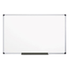 Presentation and Projection Equipment Microphones Megaphones: MasterVision® Value Lacquered Steel Magnetic Dry Erase Board