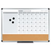 MasterVision MasterVision® 3-in-1 Planner Board BVC MB3507186