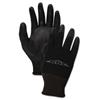 Boardwalk Boardwalk® Black PU Palm Coated Gloves BWK 0002810