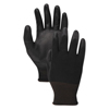 Boardwalk Boardwalk® Black PU Palm Coated Gloves BWK 0002811