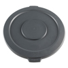 Smokers'-outpost-trash-receptacles: Boardwalk® Round Lids for Waste Receptacles