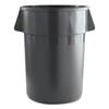 trash receptacle: Round Waste Receptacle