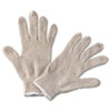 safety zone cotton gloves: String Knit General-Purpose Gloves - Large