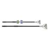 Boardwalk Boardwalk® Two-Piece Metal Handle with Metal Quick Change Head BWK FF605