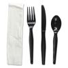 Boardwalk Boardwalk® Four-Piece Cutlery Kit BWK FKTNHWPSBLA