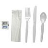 plastic cutlery: Boardwalk® Six-Piece Cutlery Kit