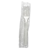 plastic cutlery: Boardwalk® Heavyweight Wrapped Polypropylene Cutlery