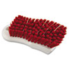 cleaning chemicals, brushes, hand wipers, sponges, squeegees: Scrub Brush