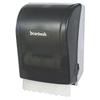 paper towel, paper towel dispenser: Boardwalk® Hands Free Towel Dispenser